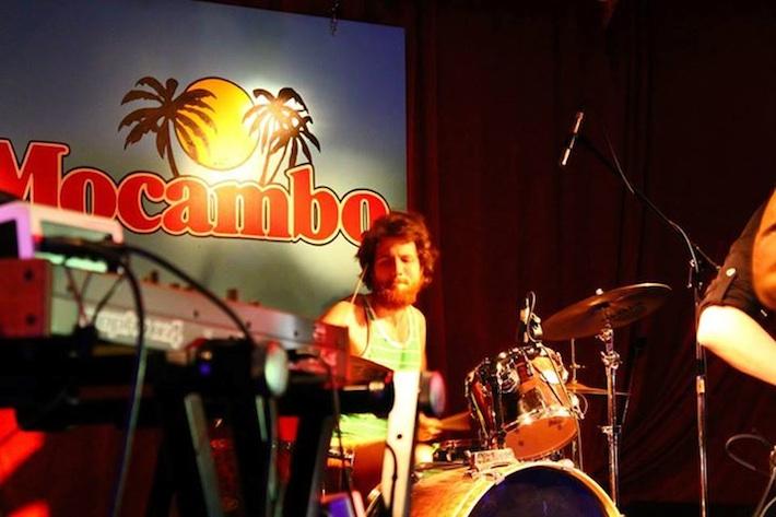 Drummer Chris Baragar (aka Menacer) (Image: Kelly Painter)