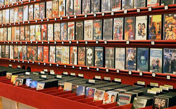 The month's video store of the month is EYESORE CINEMA in Toronto, Ontario (801 Queen Street West). Keep your local video stores alive! Have a local spot that you like to frequent, send us info to contact@dorkshelf.com for your favourite video store to be showcased here! (Photo courtesy of Blog TO)