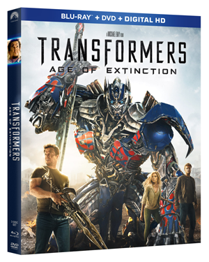 Transformers Age of Extinction BluRay