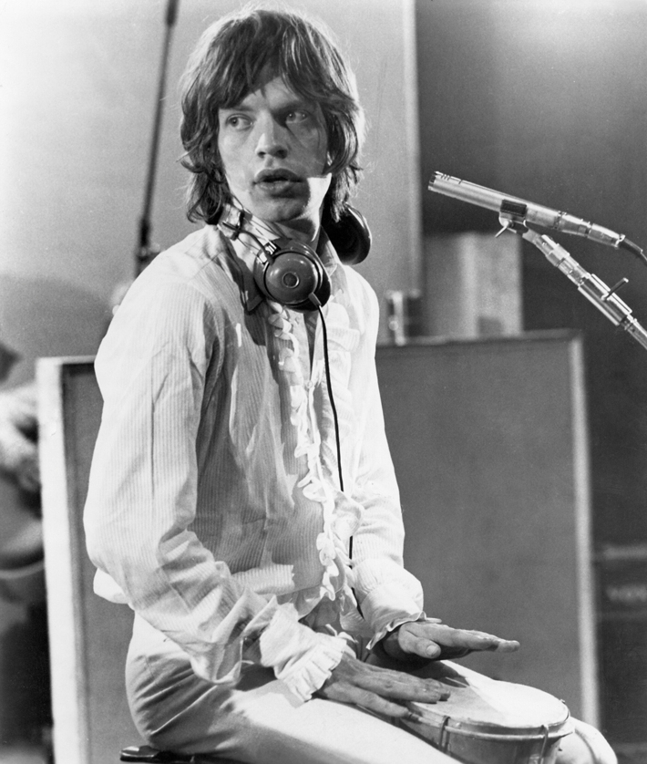 Sympathy for the Devil (1968)Directed by Jean-Luc GodardShown: Mick Jagger