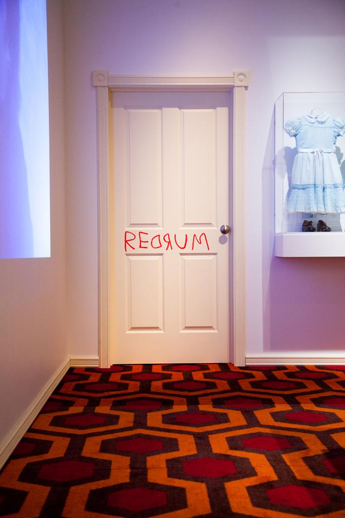 TIFF Kubrick Exhibit - Shining Room