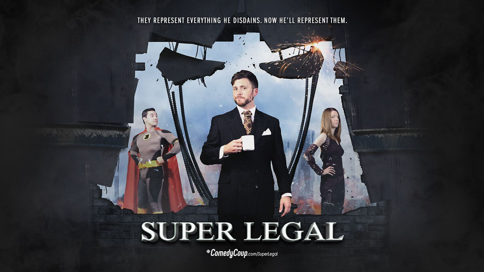 ComedyCoup Super Legal