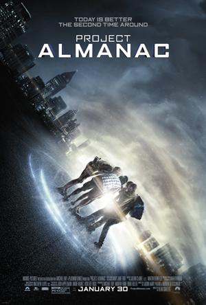 Project Almanac One Sheet