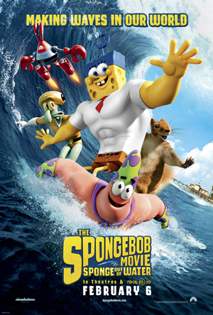 Spongebob Squarepants Sponge Out of Water One Sheet