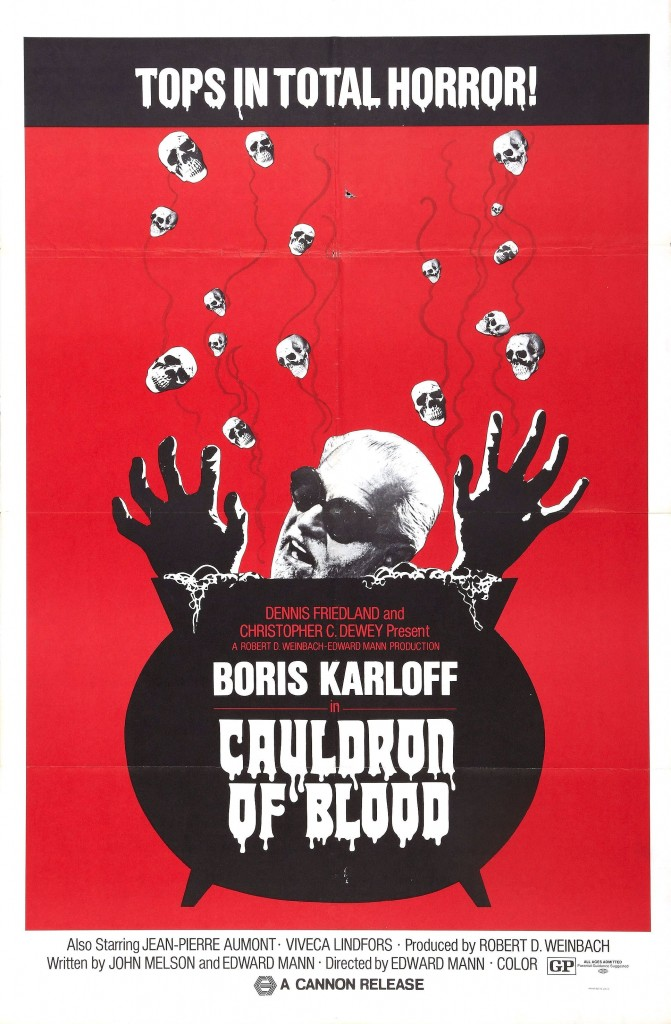 Cauldron of Blood (Blind Man's Bluff) poster