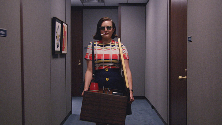 Mad Men - Peggy Smoking