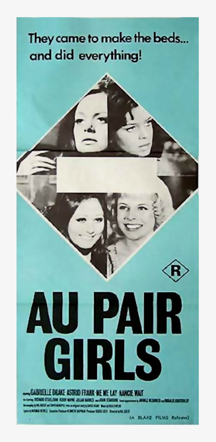 Au Pair Girls - Poster