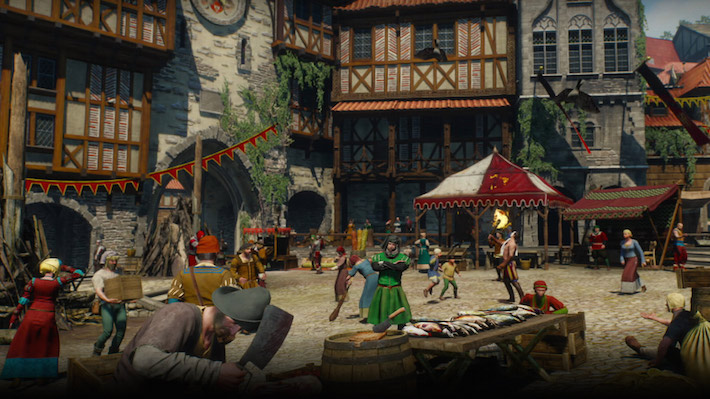 witcher-3-village