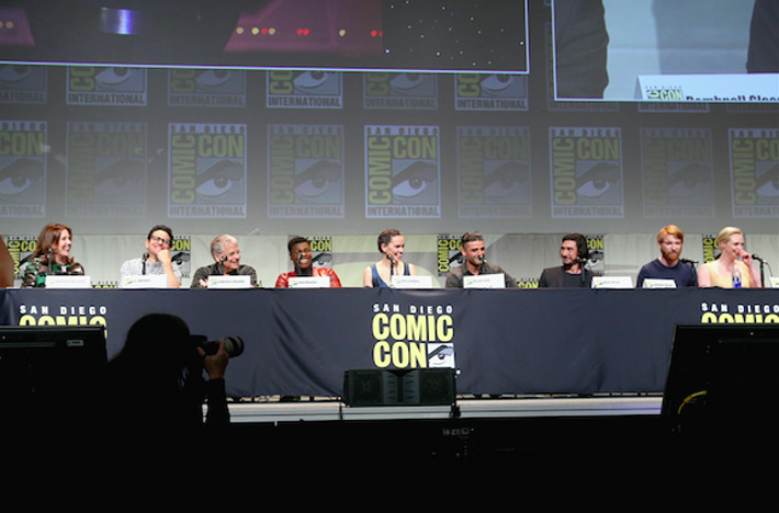 Star Wars Comic-Con Cast Panel