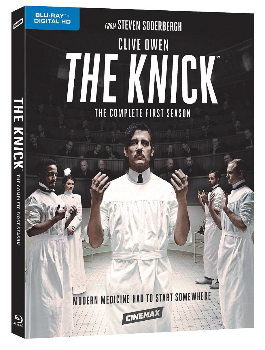 The Knick Blu-ray Cover