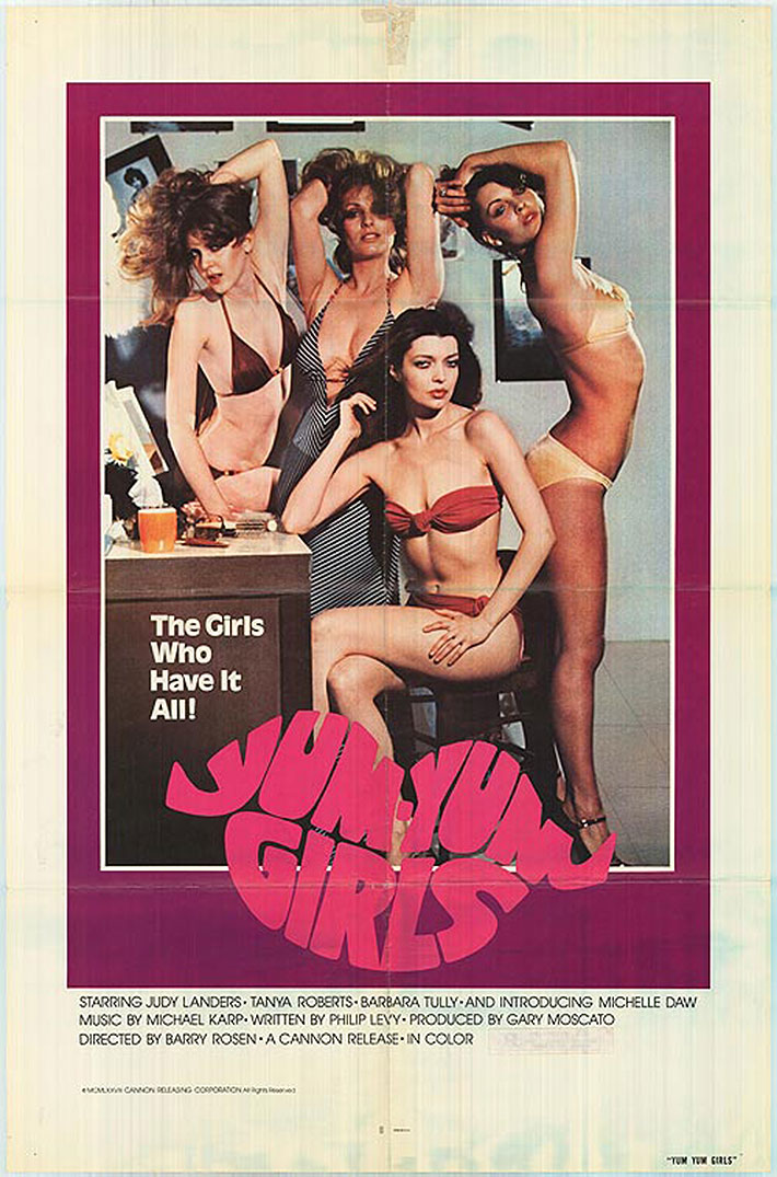 The Yum Yum Girls Poster