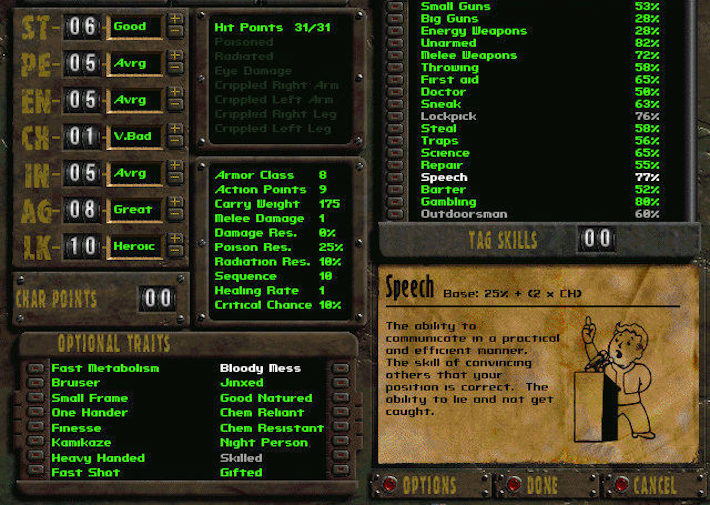 fallout-1-character-creation
