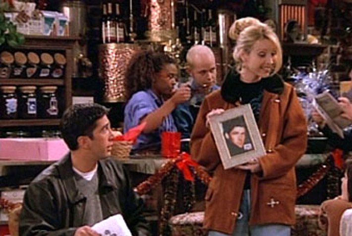 "Friends  ""The One With Phoebe's Dad"""