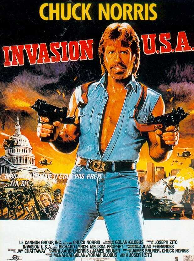 Invasion USA poster