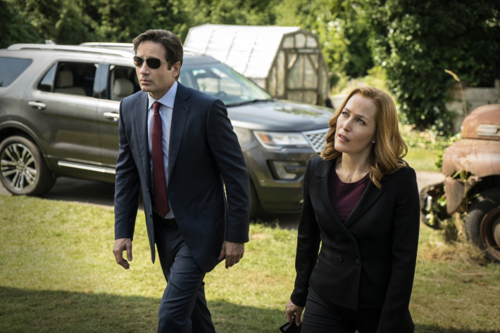 X-Files - Mulder Scully