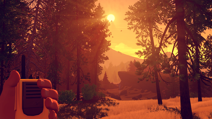 firewatch-radio-sunset