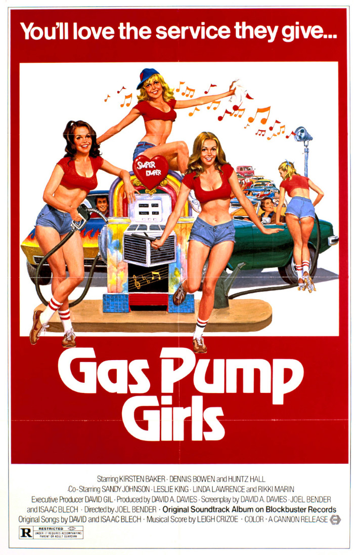 Gas Pump Girls Poster