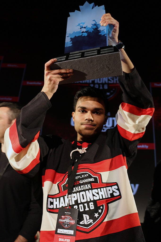 World Gaming Champion Allameen Ally (Photo by Brian Baker)