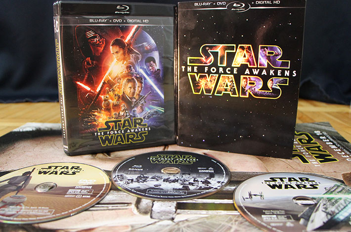 Star Wars Force Awkens Blu ray