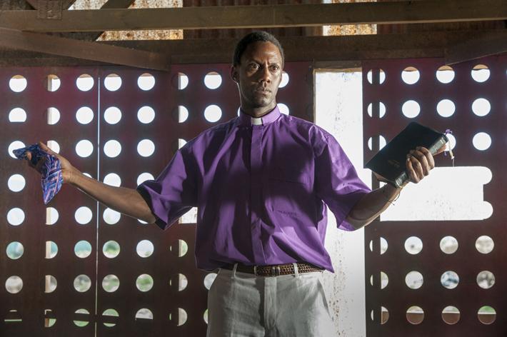 Preacher African Priest