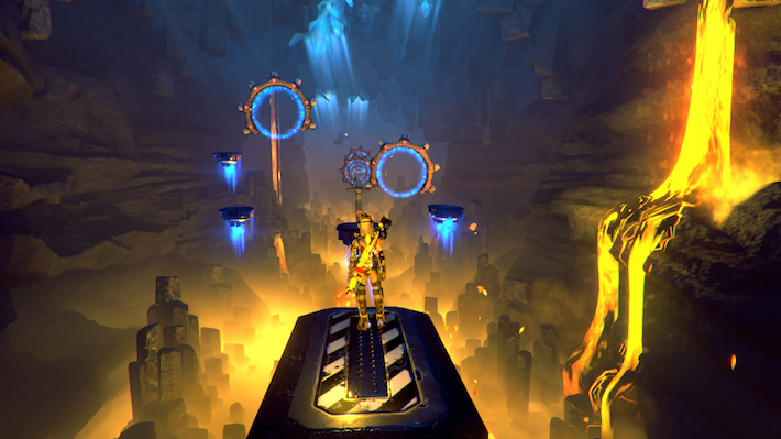 Lava level screenshot