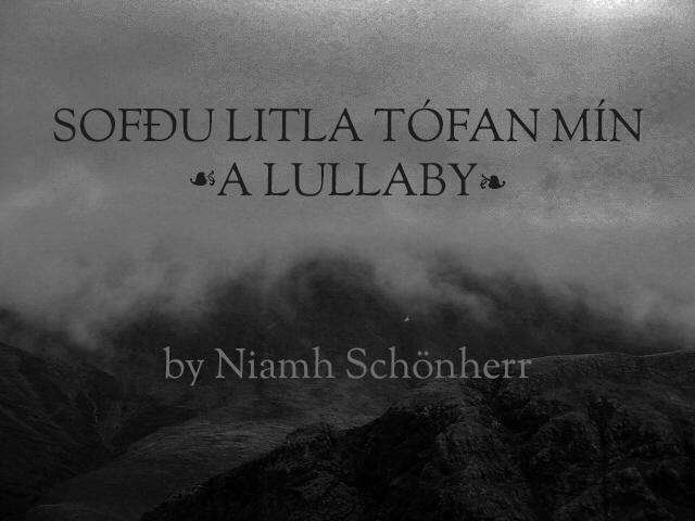 Sofðu litla tófan mín: A Lullaby
