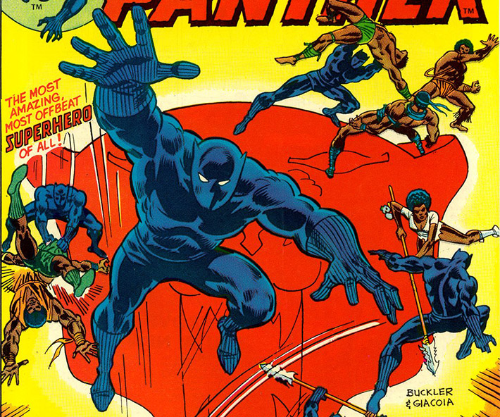 black panther jungle action