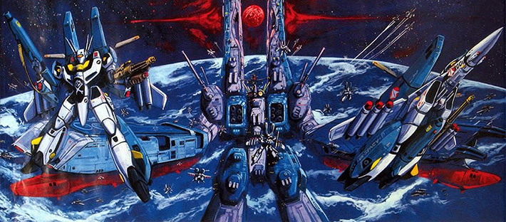 Super Dimension Force Macross Pacific Rim