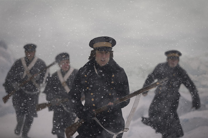 The Terror Tobias Menzies James Fitzjames