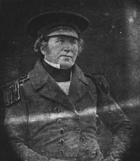Francis Crozier, Captain of the HMS Terror