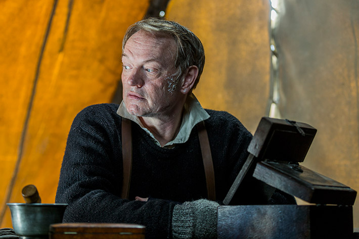 The Terror Jared Harris Francis Crozier