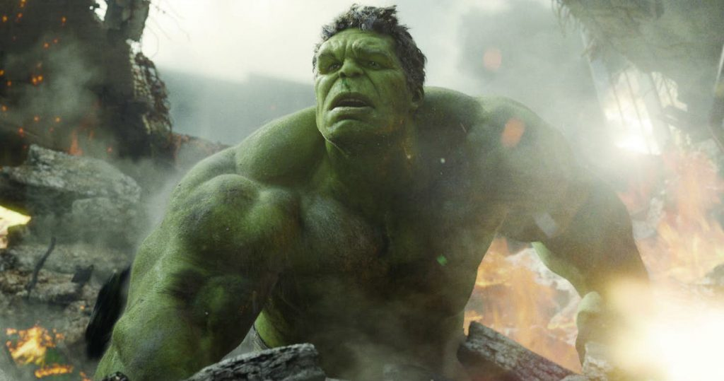 The Hulk in The Avengers