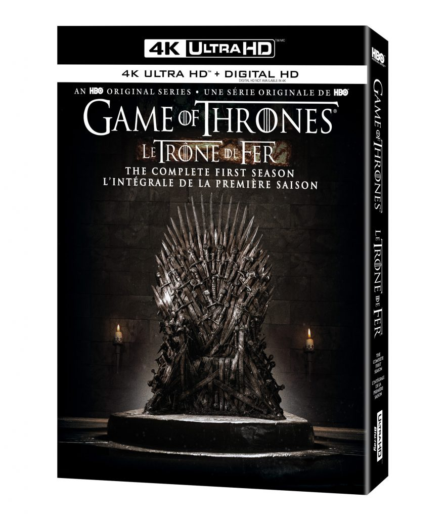 Game of Thrones Season 1 4K Ultra HD