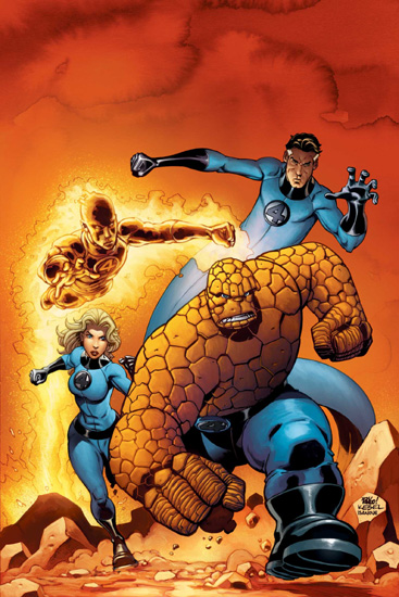 Fantastic Four in comic book form, where they can actually be good!
