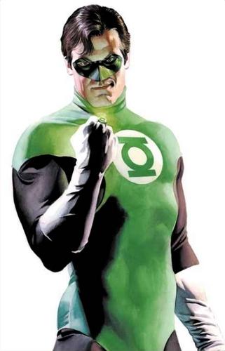 Green Lantern as drawn by Alex Ross