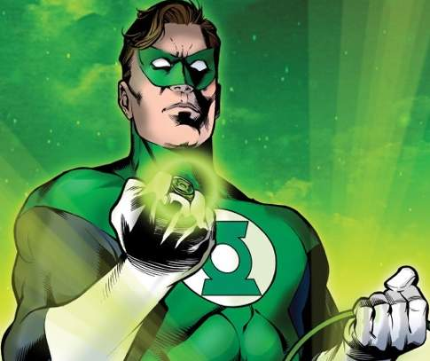 Green Lantern as he appears in the DC Comics Universe
