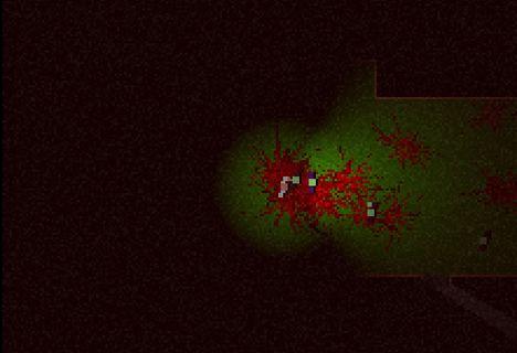 A screenshot of the 4kb Java Game Left4kDead