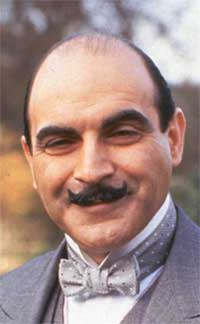 Hercule Poirot as played by David Suchet