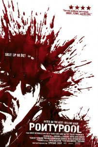 Poster for Bruce McDonald's Pontypool starring Stephen McHattie