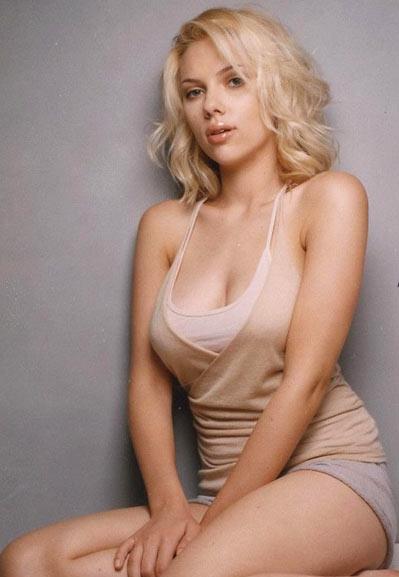 Scarlett Johannson being the sexpot she is