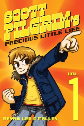 Cover art for Bryan Lee O'Malley's Scott Pilgrim's Precious Little Life