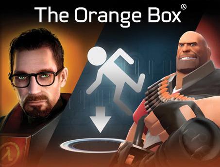 Cover art for Valve Software's Orange Box