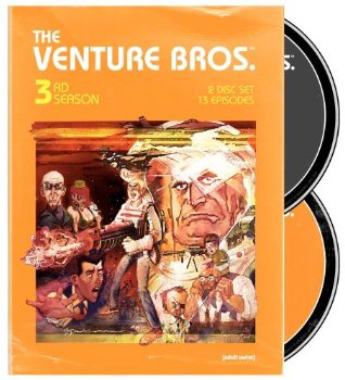 DVD Boxset for the 3rd season of Cartoon Network's amazing Venture Bros.