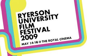 Poster for the 2009 Ryerson University Film Festival
