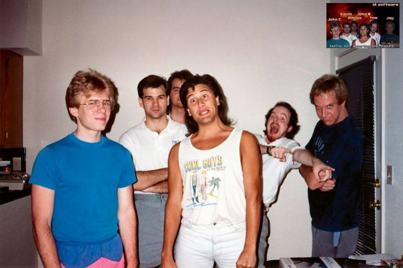 id Software - John Romero, John Carmack and company