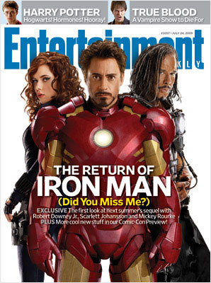 Entertainment Weekly Iron Man 2 Cover