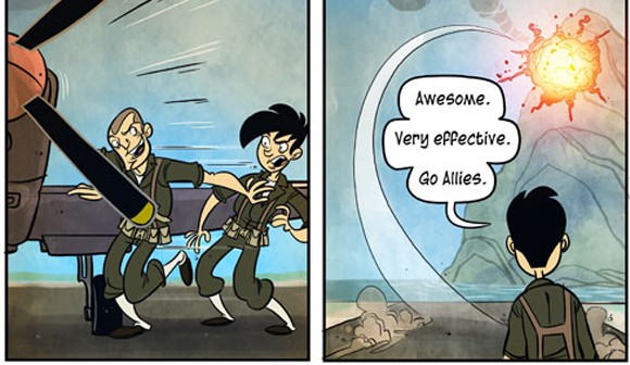 Penny Arcade on Battlefield