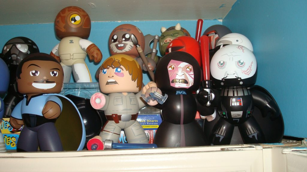 Star Wars Mighty Muggs Round 1