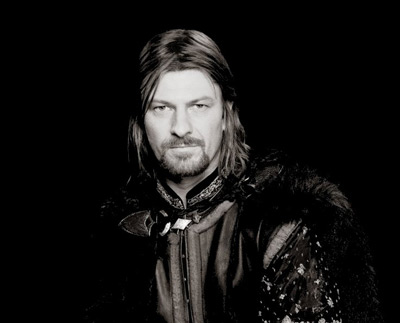 Sean Bean is Lord Eddard Stark