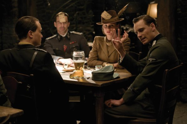 michael fassbender inglourious basterds. Inglourious Basterds is the